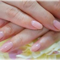 Cenbless ワンカラー桜貝ピンクネイル