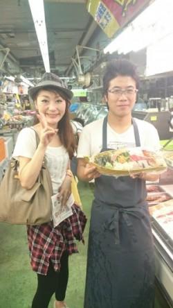 Cenbless 第一牧志公設市場 魚久鮮魚