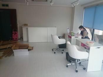 Cenbless 成増フェイシャル&ネイルサロン 移転OPEN準備 ネイルカラーチャート作成