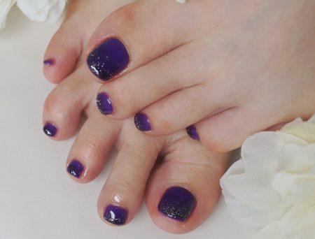 Cenbless 成増フェイシャル&ネイルサロン ハロウィンナイトフットジェル