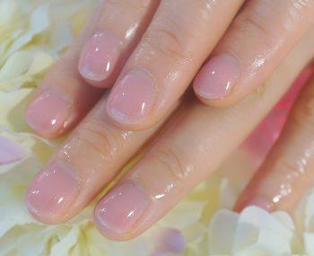 Cenbless 成増フェイシャル&ネイルサロン 清楚なピンクのワンカラーネイル