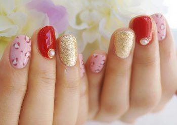 Cenbless 成増フェイシャル&ネイルサロン 新春カラー&POPなレオパードネイル