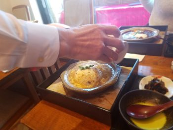 Cenbless 成増フェイシャル&ネイルサロン 銀座古窯『平日限定10食 山形牛・米沢牛のスープチャーハン定食』