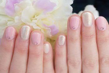 Cenbless 成増フェイシャル&ネイルサロン 春色ふんわりピンクのジェルネイル