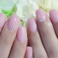 Cenbless 成増フェイシャル&ネイルサロン うる艶×マット上品ピンクネイル