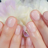 Cenbless 成増フェイシャル&ネイルサロン 新しい職場でも安心☆上品ピンクのワンカラーネイル