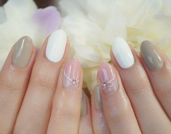 Cenbless 成増フェイシャル&ネイルサロン ほっこりガーリー♪バレンタインネイル