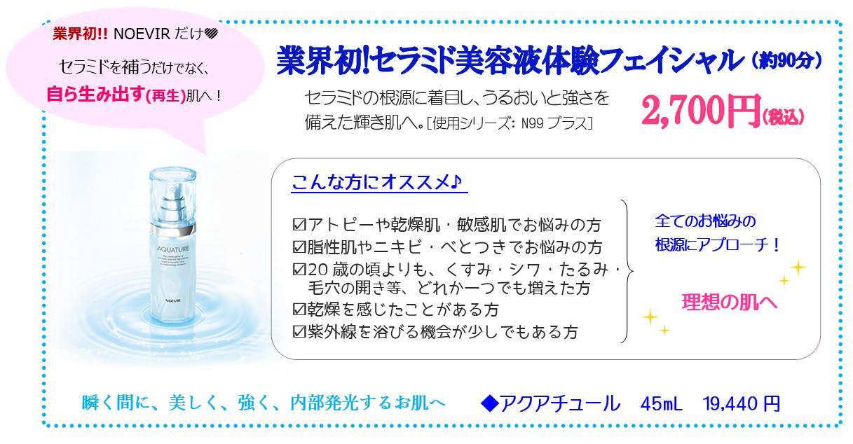 Cenbless 成増フェイシャル&ネイルサロン 業界初!セラミド美容液体験フェイシャル