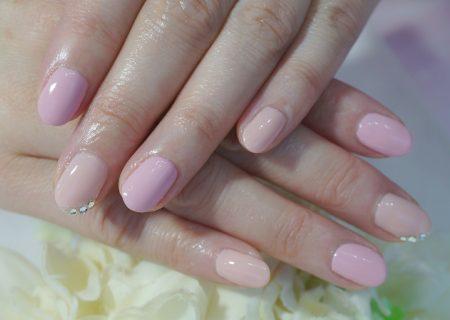 Cenbless 成増フェイシャル&ネイルサロン 穏やか優しいピンク系ネイル