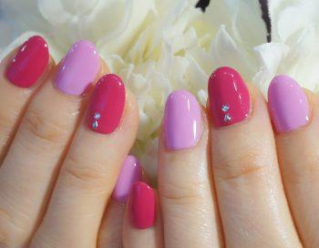 Cenbless 成増フェイシャル&ネイルサロン 女子度たっぷり♪キレイ色ピンクのワンカラーネイル