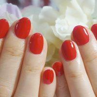 Cenbless 成増フェイシャル&ネイルサロン 鉄板人気!夏の真っ赤なワンカラーネイル