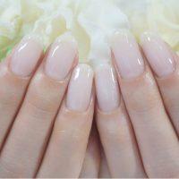Cenbless 成増フェイシャル&ネイルサロン うっとりする程の美爪の花嫁さま♪シアーな乳白色のワンカラーでブライダルネイル
