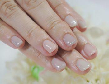 Cenbless 成増フェイシャル&ネイルサロン ショート爪さんの初挑戦シアーネイル