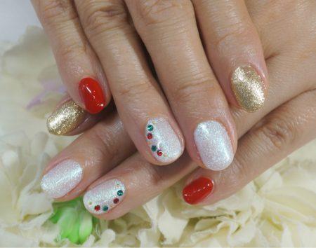 Cenbless 成増フェイシャル&ネイルサロン クリスマスネイル