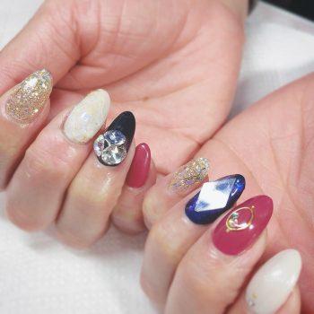Cenbless 成増フェイシャル&ネイルサロン マイネイル★今流行りの宝石カットネイル(ジュエルカットネイル)