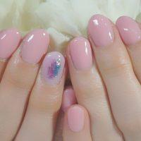 Cenbless 成増フェイシャル&ネイルサロン 桜の季節に♪ニュアンスネイル