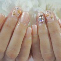 Cenbless 成増フェイシャル&ネイルサロン 夏のコーラルカラーネイルをアレンジ!