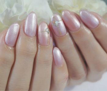 Cenbless 成増フェイシャル&ネイルサロン パールカラー2色♪上品ワンカラーネイル