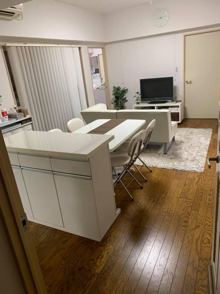 Cenblessサロンの裏側☆元自宅サロンのリビングの家具を配置換え!