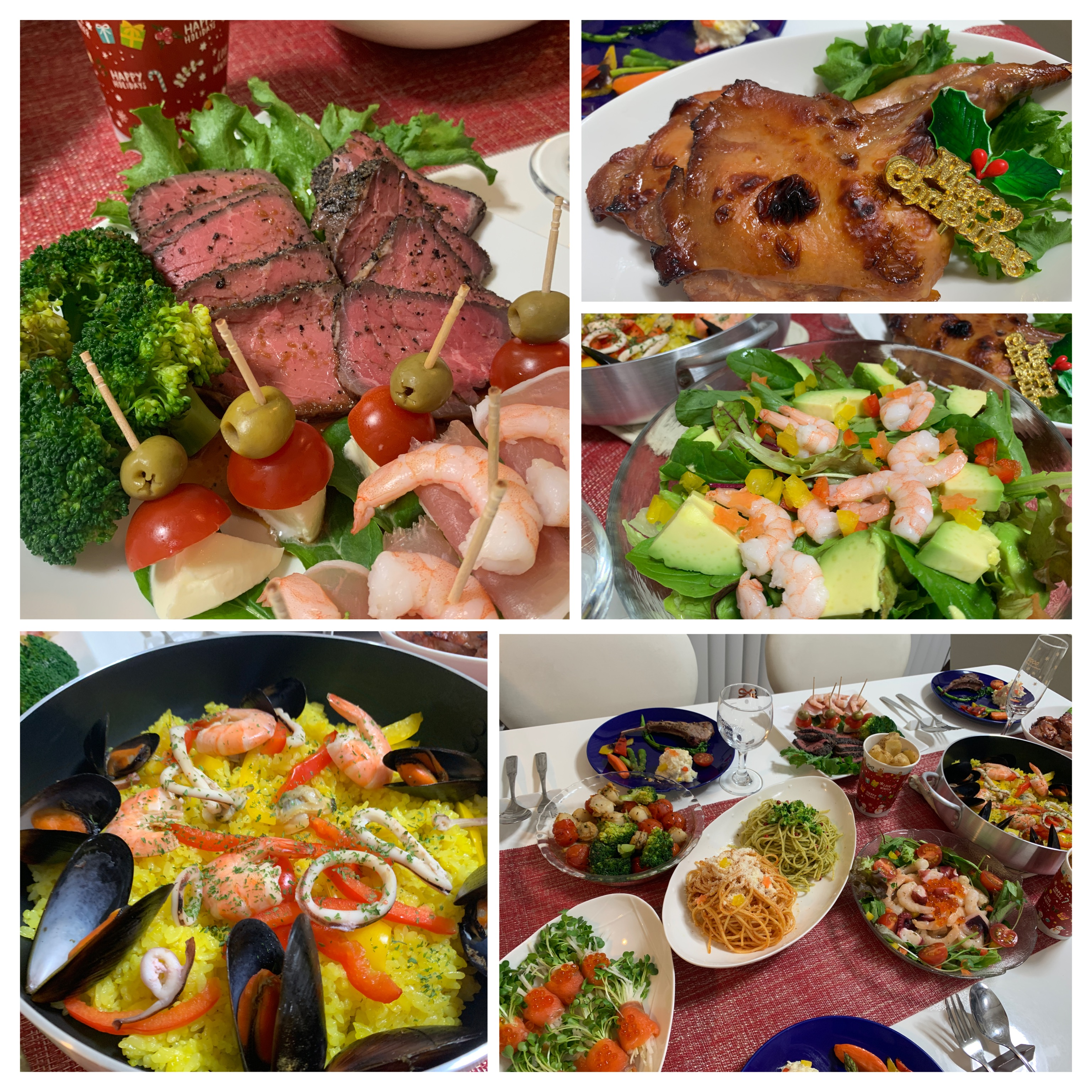 Cenbless 成増フェイシャル&ネイルサロン サロンオーナーの日常!お料理作って家族でクリスマスパーティー