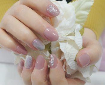 Cenbless 成増フェイシャル&ネイルサロン お気に入りのベージュピンクを使って定額ネイルサンプルをアレンジ☆