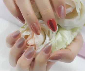 Cenbless 成増フェイシャル&ネイルサロン 2021年バレンタインネイル定額キャンペーン☆一番人気デザイン!