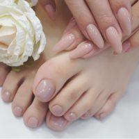 Cenbless 成増フェイシャル&ネイルサロン ルクジェル『Plus Beauté(プラス ボーテ)』シリーズ 美しい手足ワンカラーネイル