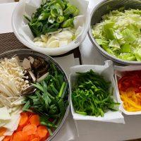 Cenbless 成増フェイシャル&ネイルサロン 野菜を切って冷凍保存!