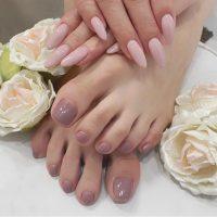 Cenbless 成増フェイシャル&ネイルサロン 女社長様の手足美しいワンカラーネイル